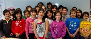 Grupo do 4.º ano (prof.a Teresa, Centro Escolar da Lixa)